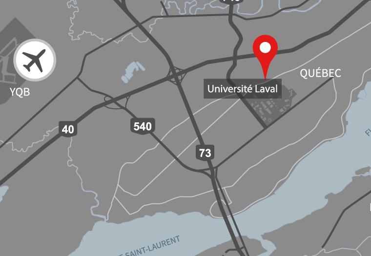 L'Université Laval dans la ville de Québec